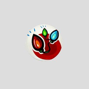 XMAS LIGHTS (101) Mini Button