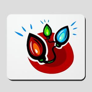 XMAS LIGHTS (101) Mousepad