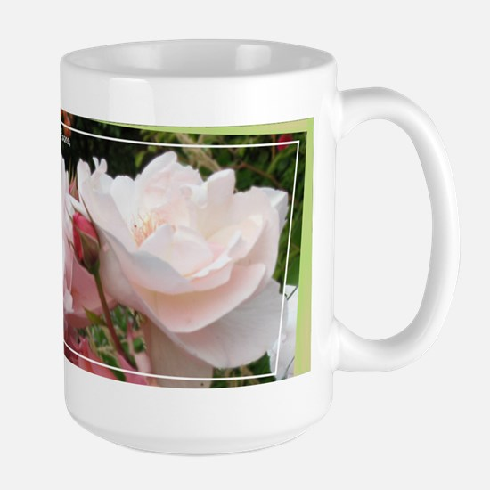 Rose Thorns Large Mug
