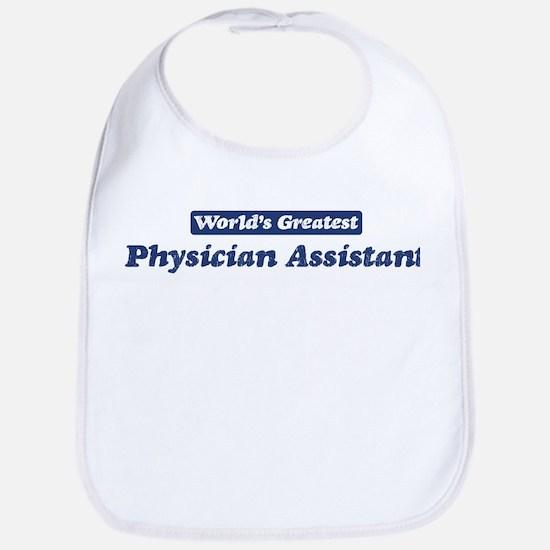 Worlds greatest Physician Ass Bib