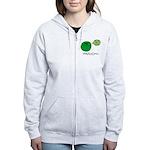 Streptococcus Women's Zip Hoodie
