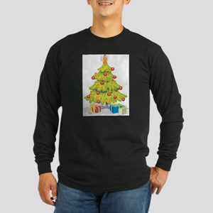 TREE (106) Long Sleeve Dark T-Shirt