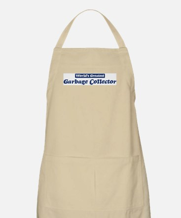 Worlds greatest Garbage Colle BBQ Apron