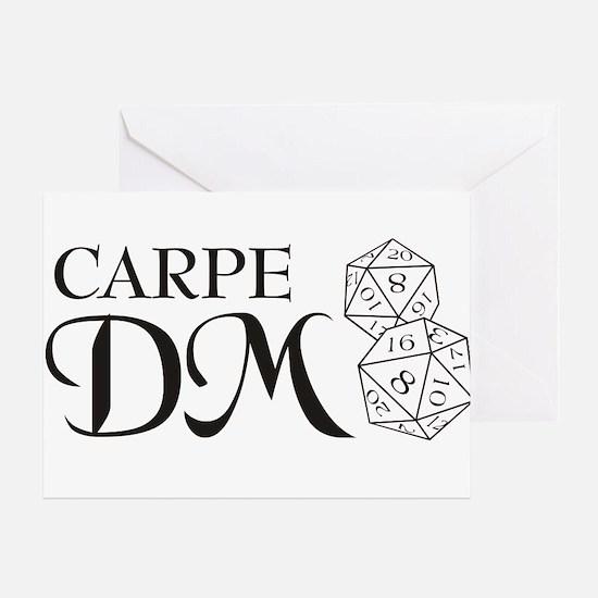 Carpe DM Greeting Card