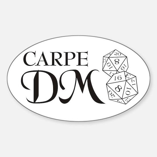 Carpe DM Sticker (Oval)