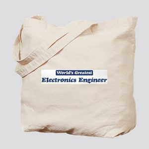 Worlds greatest Electronics E Tote Bag