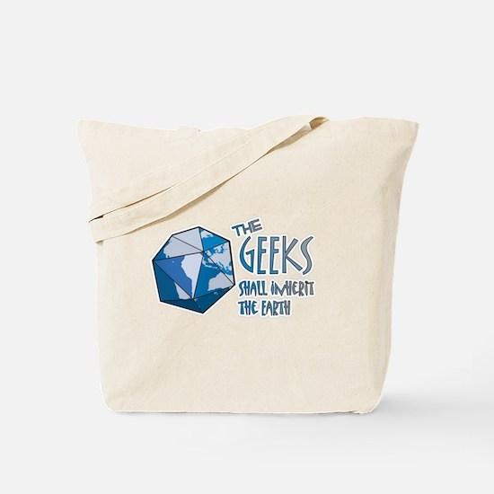 Geeks Inherit Tote Bag