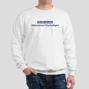 Worlds greatest Educational P Sweatshirt