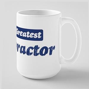 Worlds greatest Chiropractor Large Mug