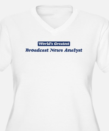 Worlds greatest Broadcast New T-Shirt