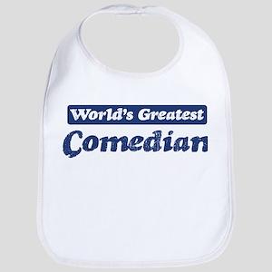 Worlds greatest Comedian Bib
