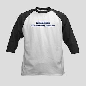 Worlds greatest Biochemistry Kids Baseball Jersey