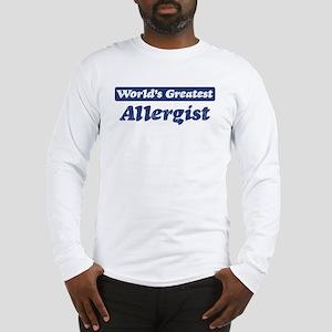 Worlds greatest Allergist Long Sleeve T-Shirt