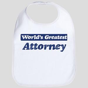 Worlds greatest Attorney Bib