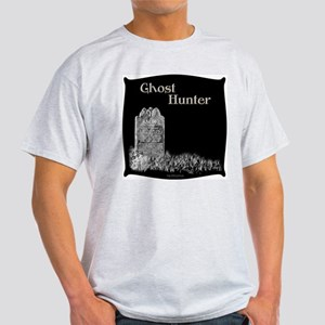 Old Tombstone Ghost Hunter Ash Grey T-Shirt