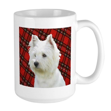 Westies are the Besties! Large Mug