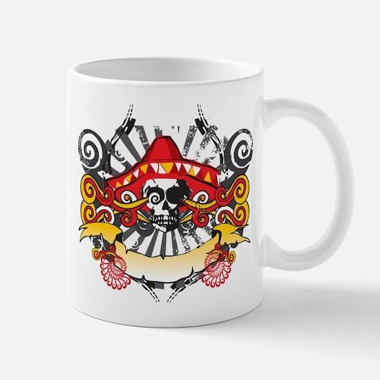 Festive Skull Mug