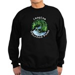 Imagine Whirled Peas Sweatshirt (dark)