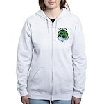 Imagine Whirled Peas Women's Zip Hoodie
