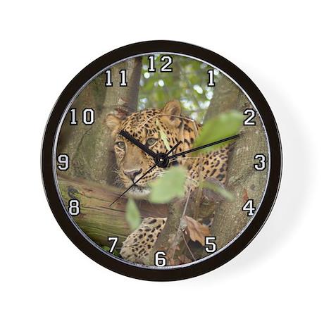 Leopard Cheetaro Wall Clock