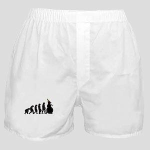 Evolution of Snowman Boxer Shorts