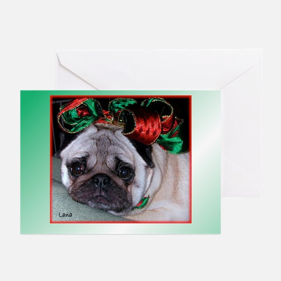 Lana w/Bow Greeting Cards (Pk of 10)