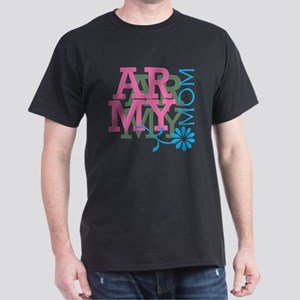 Army Mom - Pink Dark T-Shirt