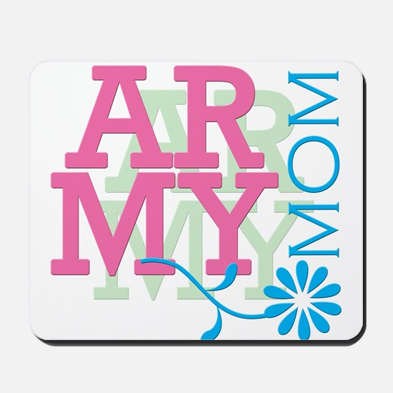 Army Mom - Pink Mousepad