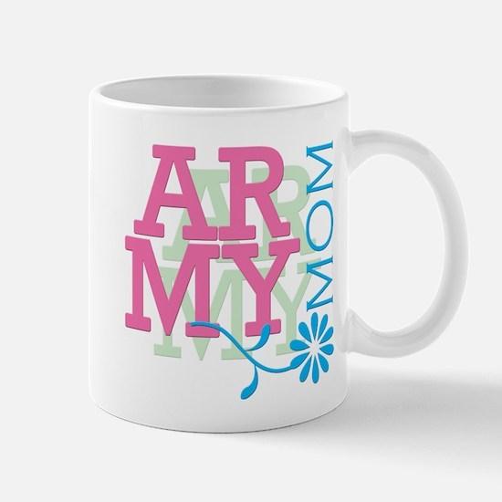 Army Mom - Pink Mug