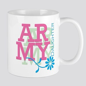 Army Daughter - Pink Mug