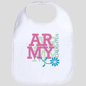 Army Daughter - Pink - KIDS Bib