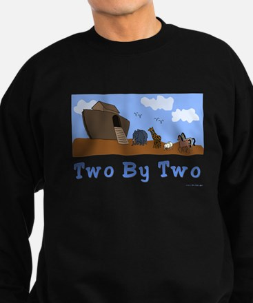 Noah's Ark Two By Two Sweatshirt (dark)