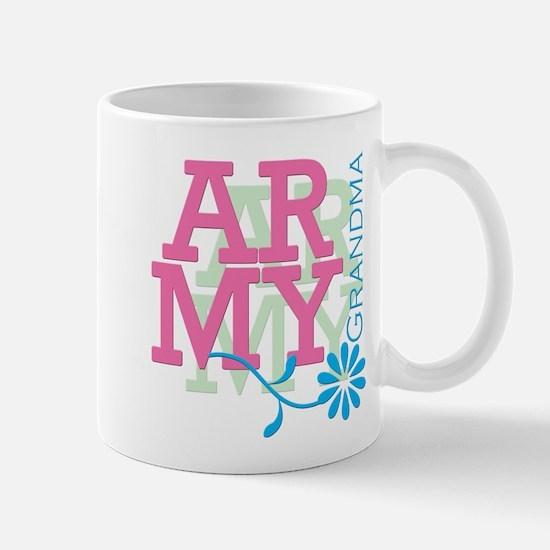 Army Grandma - Pink Mug