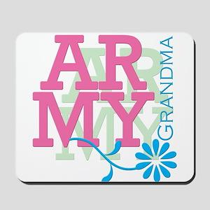 Army Grandma - Pink Mousepad