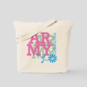 Army Grandma - Pink Tote Bag