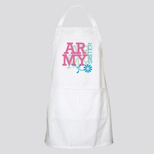 Army Sister - Pink BBQ Apron