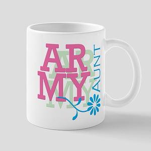 Army Aunt - Pink Mug