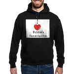 Love Bubbie's Hamentaschen Hoodie (dark)
