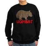 Wombat Logo Sweatshirt (dark)