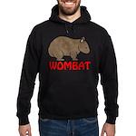 Wombat Logo Hoodie (dark)