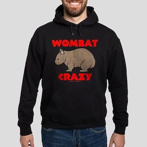 Wombat Crazy Hoodie (dark)