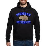 Wombat University II Hoodie (dark)