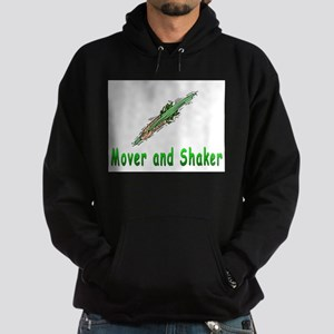 Mover and shaker. Hoodie (dark)