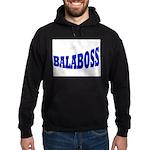 Yiddish BALABOSS Hoodie (dark)