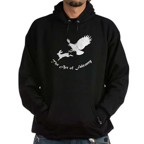 Art of Falconry - Red Tail Hoodie (dark)