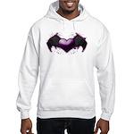 Heart wings Hooded Sweatshirt