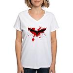 Tribal Mask Women's V-Neck T-Shirt