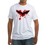 Tribal Mask Fitted T-Shirt