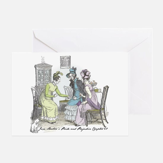 Pride and Prejudice Ch 50 Greeting Card