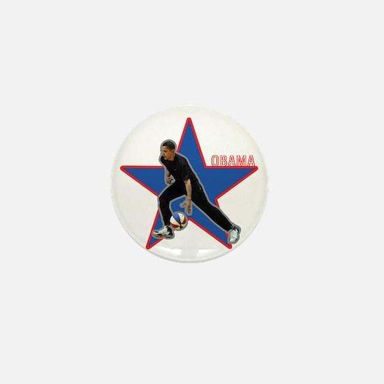 Cute Obama wins Mini Button